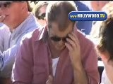 Mel Gibson Loving The Cricket Match