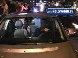 Chelsea Handler Leaves STK Friday Night
