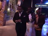 Chris Tucker Hanging W Roland Martin @ Lakers Game At The Staples Center