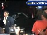 Cameron Diaz Looks On While Leaving Nobu