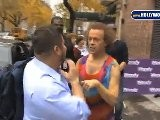Chaz Bono Runs Into Richard Simmons At Wendy Williams
