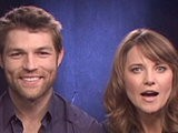 Celebrity Interviews Spartacus Vengeance: Lucy Lawless And Liam McIntyre