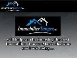 Choosing Immobilier Tanger Maroc