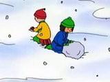 Caillou Espa&ntilde Ol Winter!