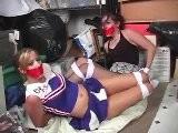 Cheerleader And Friend