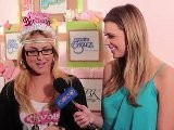 Cassie Scerbo Interview - GBK, Tiger Beat & Bop KCA Gifting Lounge
