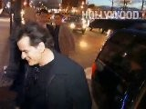Charlie Sheen Arrives At The 2012 FX Ad Sales Upfront