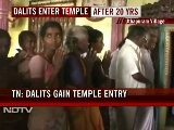 Dalits Given Entry Into Tamil Nadu Temple After Decades