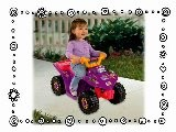 Dora The Explorer Riding ATV