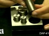 DAP-410.10 - Large Disc Cutter - Jewelry Making Tools Demo
