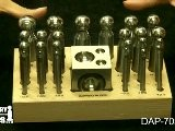DAP-705.00 - Deluxe Dapping Set, 25 Pieces - Jewelry Making Tools Demo