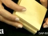 DAP-503.00 - Steel And Wood Bench Block - Jewelry Making Tools Demo