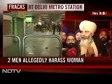 Delhi Metro Station Vandalised After 2 Men Allegedly Harass Woman, Her Fiance