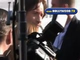 David Duchovny And Gillian Anderson - X Files Premiere
