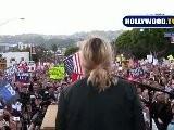 Drew Barrymore,Pete Wentz,Perez Hilton Protest Prop 8