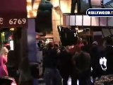 Dolly Parton Shoots A Music Video On Hollywood Boulevard