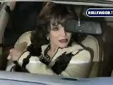 Dynasty Star Joan Collins Leaves Mr. Chows