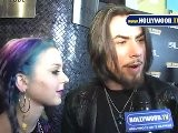 Dave Navarro & Colette Carr Talk Dirty Balls On The UNCOMFORTABLE Red Carpet