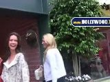 Denise Richards Leaving The Bedford Clinic