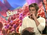 Dr. Seuss&apos The Lorax - Interview With Zac Efron