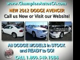 DODGE AVENGER Signal Hill, Van Nuys, Valencia, Los Angeles CA - 2012 NEW - 800.549.1084