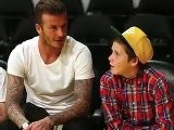 David Beckham Celebrates Son&#039 S Birthday