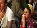 David Beckham Celebrates Son Brooklyn&#039 S 13th Birthday At Basketball