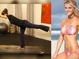 FitSugarTV Get Brooklyn Decker&#039 S Bikini Bod With Yoga