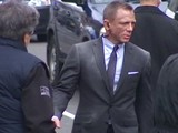Daniel Craig On Skyfall Movie Set