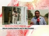 Delhi Couple Death: Note Blames Army Officers