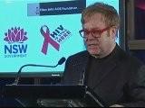 Elton John Commemorates World AIDS Day In Sydney