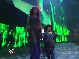 Eve Torres, Alicia Fox, Booker T, & Hornswoggle
