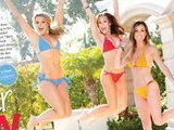 E! News Now Bachelorette Beauties Flaunt Bikini Bods