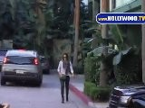 Jessica Alba Visitas Westwood Medical Center