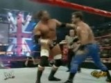 Triple H, Ric Flair And Batista Vs Chris Benoit, Edge And Shawn Michaels - RAW 10.11.2004