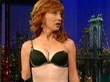 E! News Now Kathy Griffin Strips To Her Bra