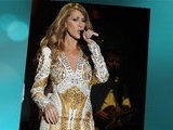 E! News Now Celine Dion Flashes Audience In Mini Dress