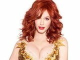 E! News Now Christina Hendricks Stuns In Sexy Dress