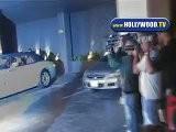 Eva Longoria And Tony Parker Leave The Thompson Hotel