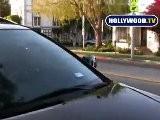 Eva Longoria Parker Swarmed By Paparazzi At Ken Paves Salon