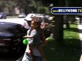 EXCLUSIVE: Halle Berry Brings Baby Out In North Hollywood