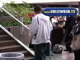 Eva Longoria And Tony Parker Leave LAX On Friday Afternoon