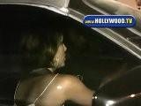 Eva Longoria And Tony Parker Leave Beso
