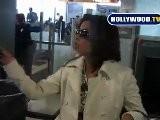 EXCLUSIVE: Eva Longoria Goes To LAX
