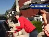 EXCLUSIVE: Pregnant Jennifer Garner At Brentwood Country Mart