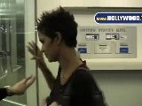 EXCLUSIVE: Halle Berry Makes Fans Happy At Pacific Design Center