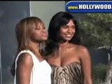 Eve And Joy Bryant @ Alexander McQueen LA Launch Party