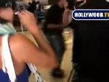Eva Longoria Goes To LAX Without Makeup