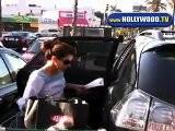 Eva Longoria Hits Rock ' N Roll Ralphs In Hollywood