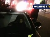 Eva Longoria Parker Leaves Beso Friday Night